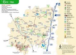 Carte Touristique Haute Vienne.La Carte Touristique Tourisme Haut Limousin