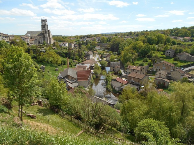 Bellac, village remarquable